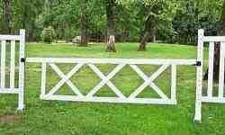 "10' x 2' 6"" Triple X Gate Horse Jumps"