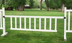 10' x 3' Picket Gate Horse Jumps