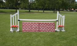 Wall Base, Wood Horse Jumps